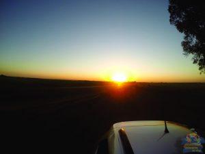 Uma pausa para o nascer do Sol